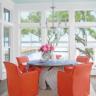 Coastal Living Showcase Dining Room
