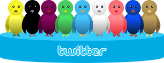Warna Twitter Burung Terbang