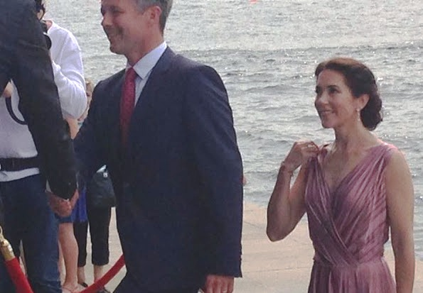 Princess Mary And Prince Frederik Attended A Concert In Copenhagen