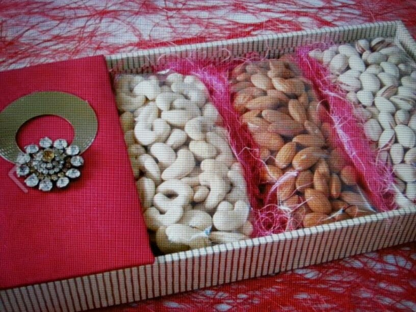 Ranjana arts ranjanaarts november 2013 dry fruit packing ideas indian wedding packing ideas trousseau packing aana decoration trays manufacturers boxes junglespirit Image collections