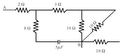 hambatan pengganti antara titik A dan B