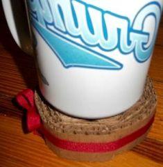 Langkah Membuat Lamakan Gelas teh panas & Hot coffee mug