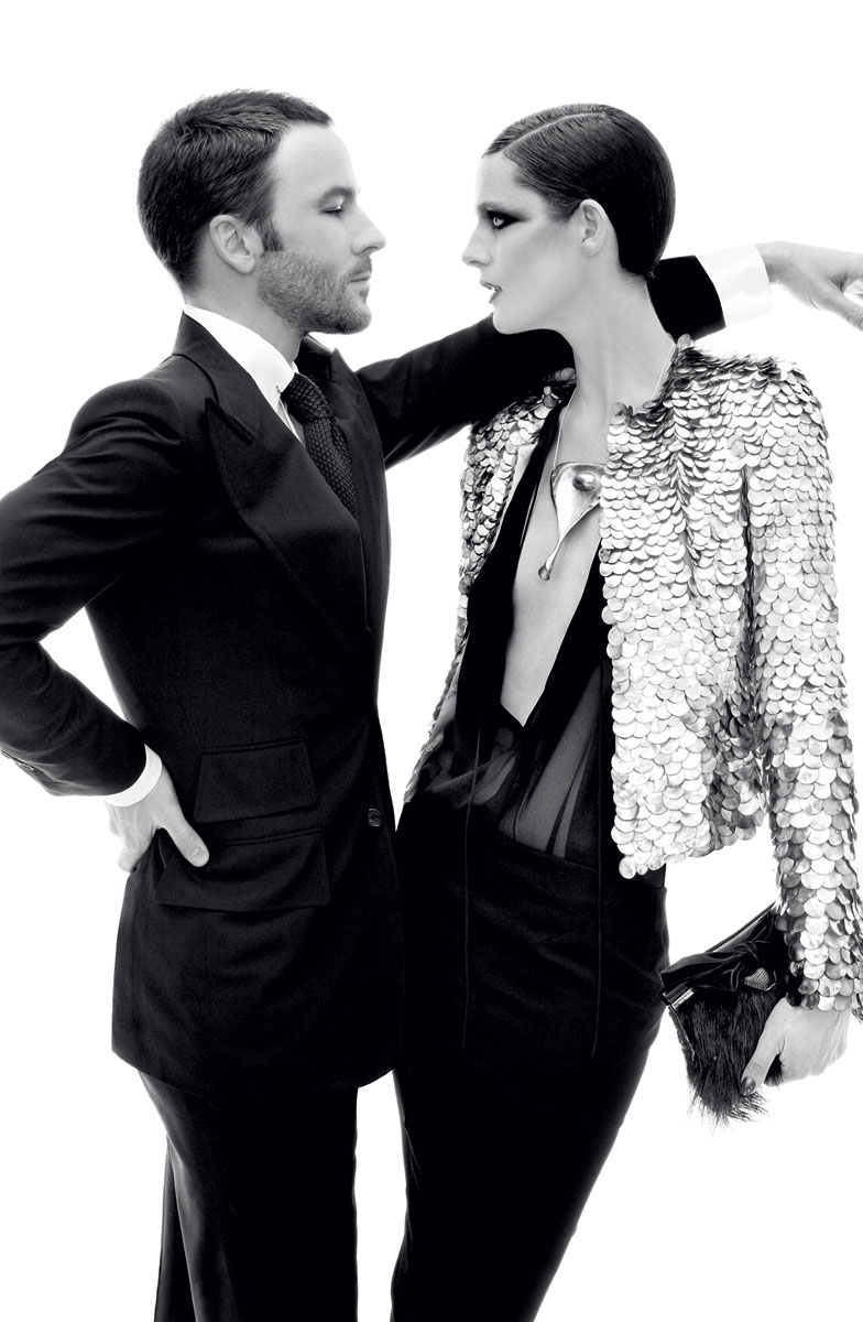 Tom Ford & Stella Tennant in Vogue US December 2010 (photography: Steven Meisel)