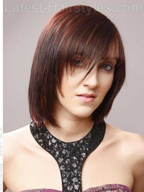 latest short choppy hairstyles
