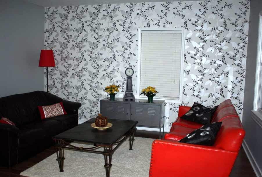 wallpaper minimalis ruang tamu
