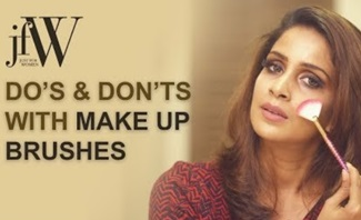 Jfw Makeup Tutorial | Do's and Don'ts with Makeup brushes