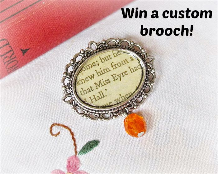 Literature Brooch Giveaway