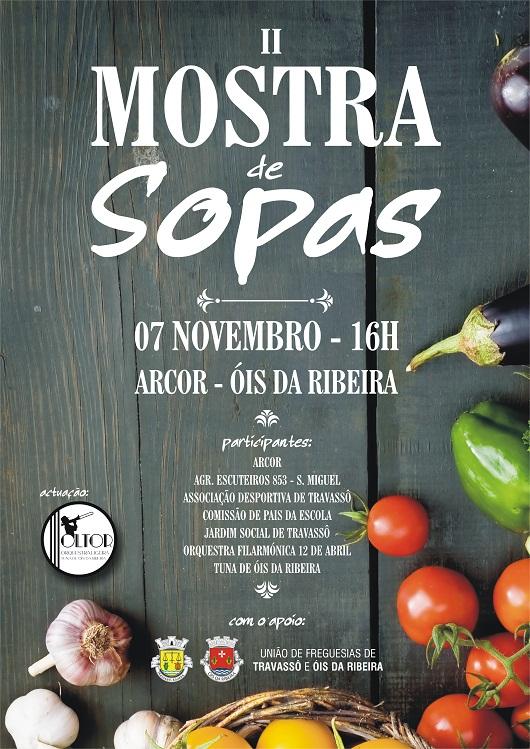 MOSTRA DE SOPAS EM ÓIS DA RIBEIRA