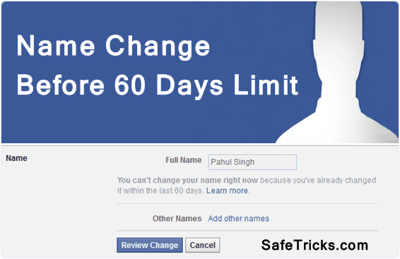 facbook-change-name-before-60-days-limit