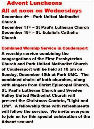 12-15/18 Advent Luncheons
