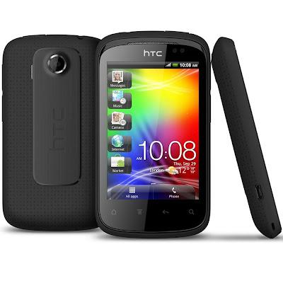 Harga Smartphone HTC Explorer (Pico) A310e cariharga.blogspot.com