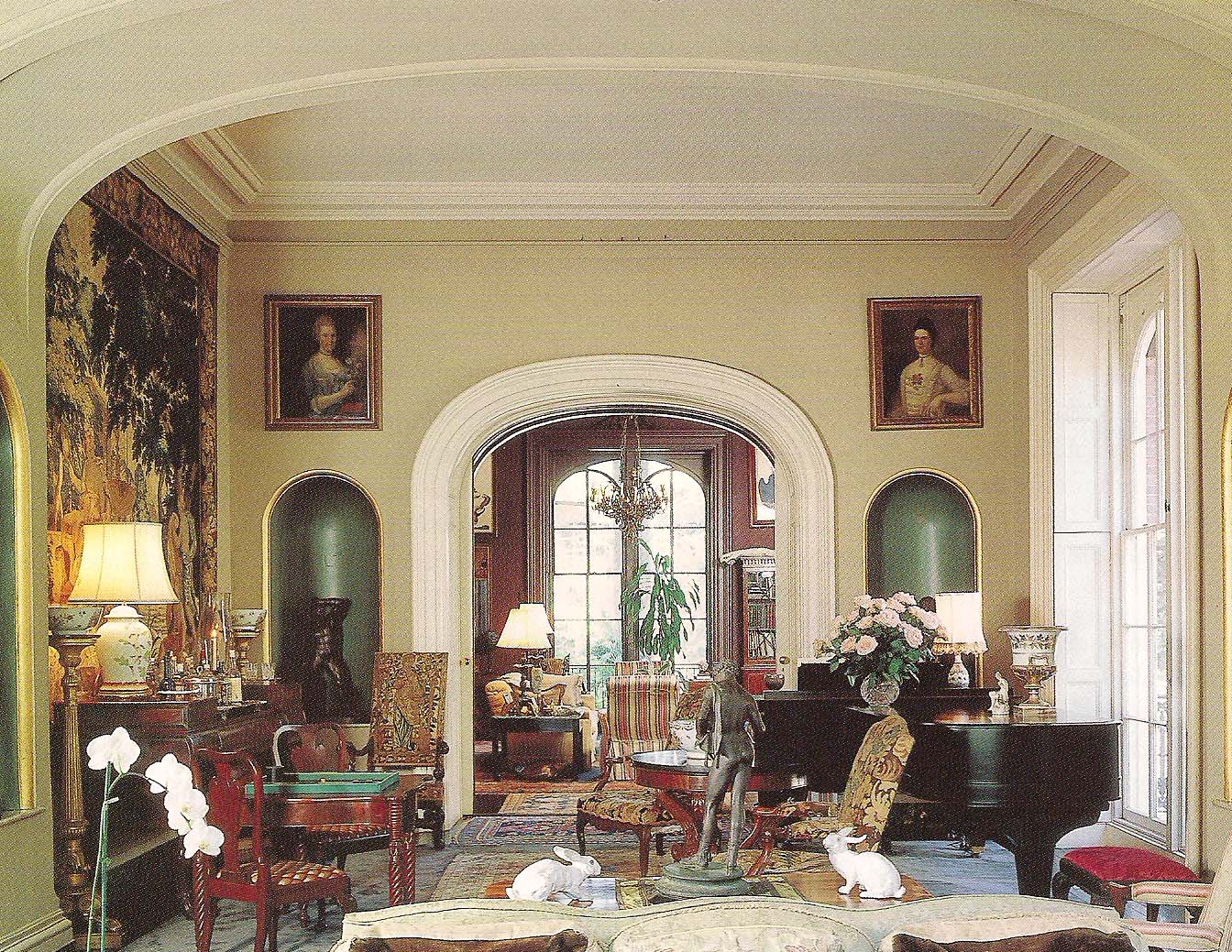 The devoted classicist the furnishings mercer house for The mercer