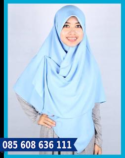 jilbab segi empat rumana
