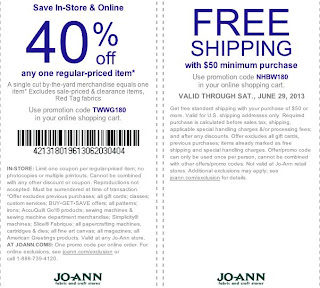 joann printable coupons