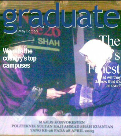 My Graduation Day~28th Apr. 2005