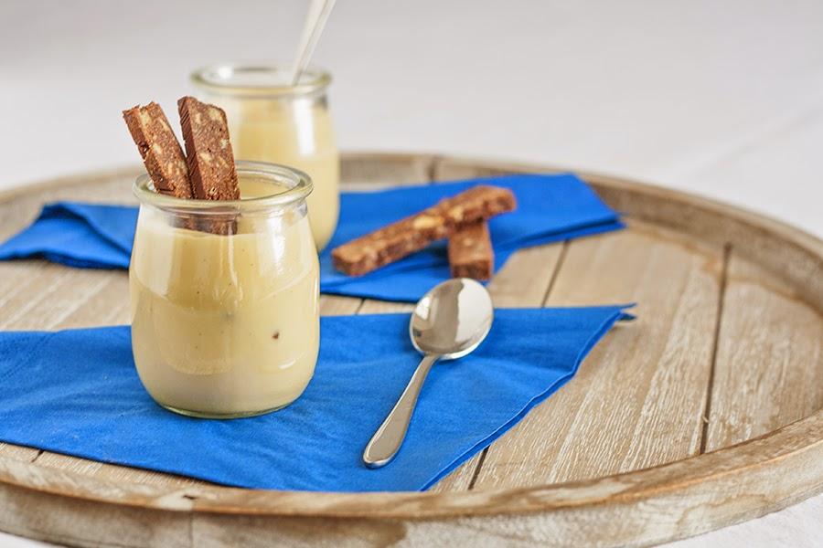 crema leggera allo zenzero e vaniglia ricetta