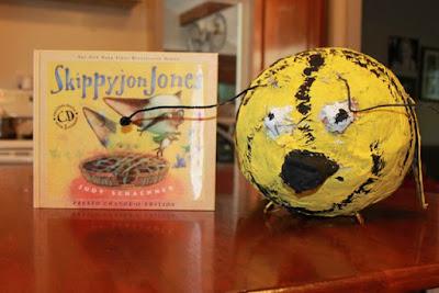 Activity idea for Skippyjon Jones by Judy Schachner via www.happybirthdayauthor.com