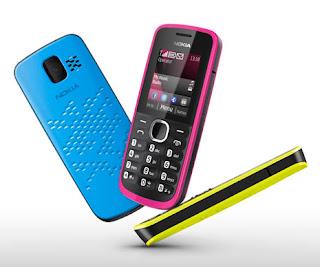 Nokia 110, Hape Murah Warna Cerah