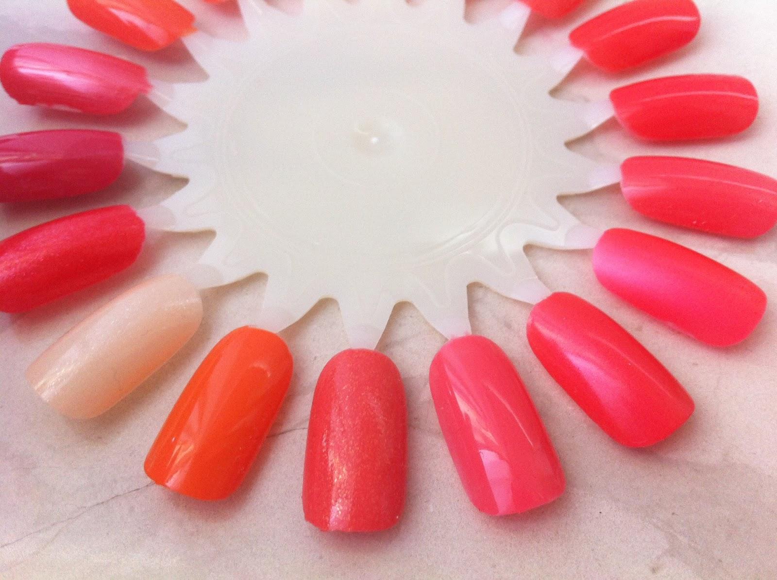 FairyAna: My nail polish stash: orange