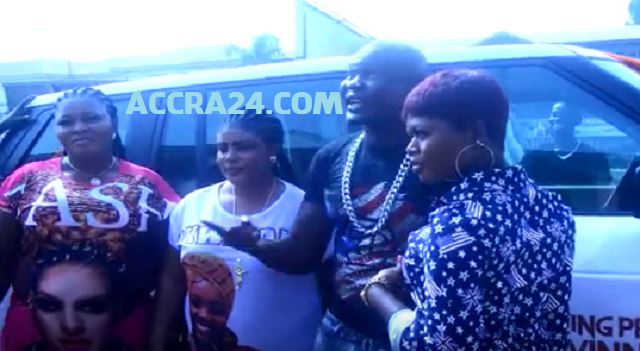 Bukom Banku parades his 3 wives