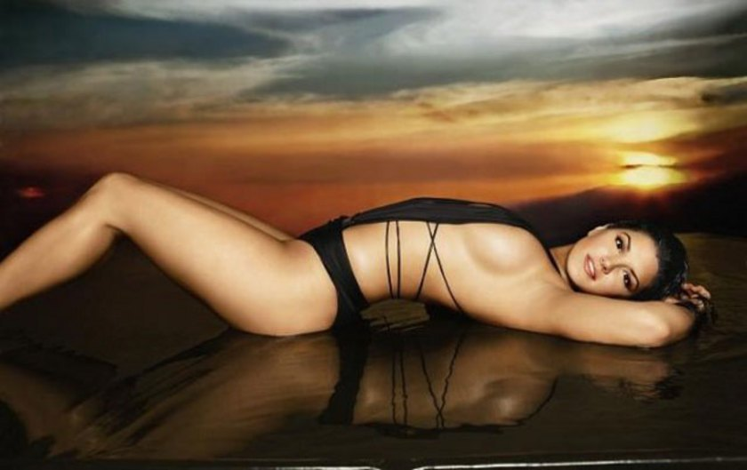 Gina Carano Nude Weigh In