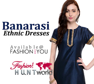 Banarasi Kurta And Palazzo Pants Fashion 2015-2016