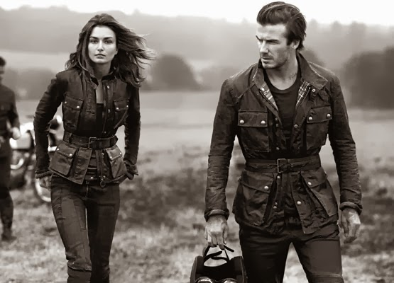 Belstaff moda jaquetas de couro