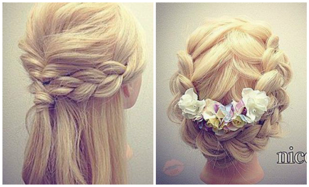 C mo hacer lindos peinados con trenzas f ciles - Trenzas peinados faciles ...