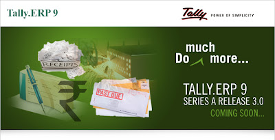 Tally.ERP 9 rel 3.0 coming soon