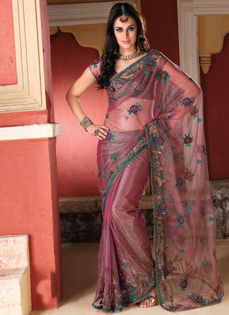 Kewtified Saree Fashion 2012 Latest Collection