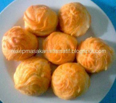 Resep Dan Cara Membuat Kue Sus Basah Isi Vla (Fla)