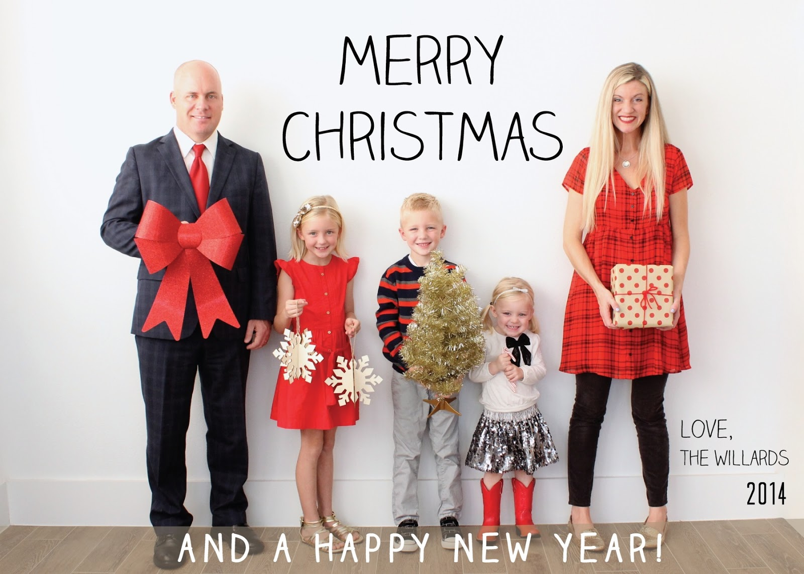 a merry 2014 christmas card from our family to yours made everyday - Family Photo Christmas Cards