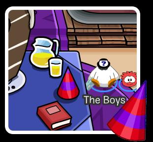 9no Aniversario a la isla de Club Penguin
