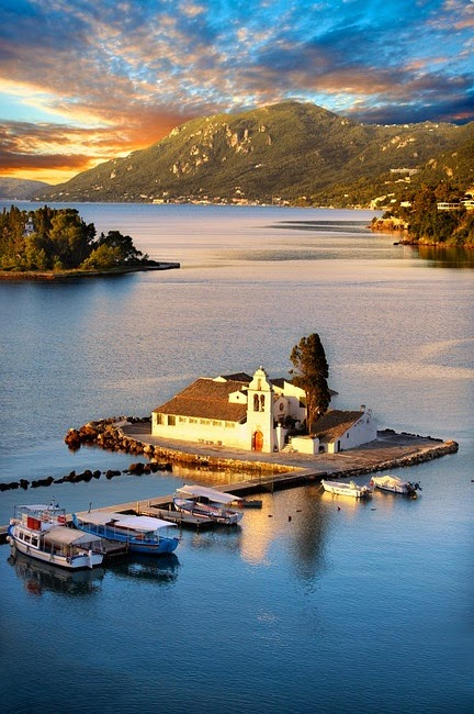 Kerkyra, Ionian Islands, Greece.
