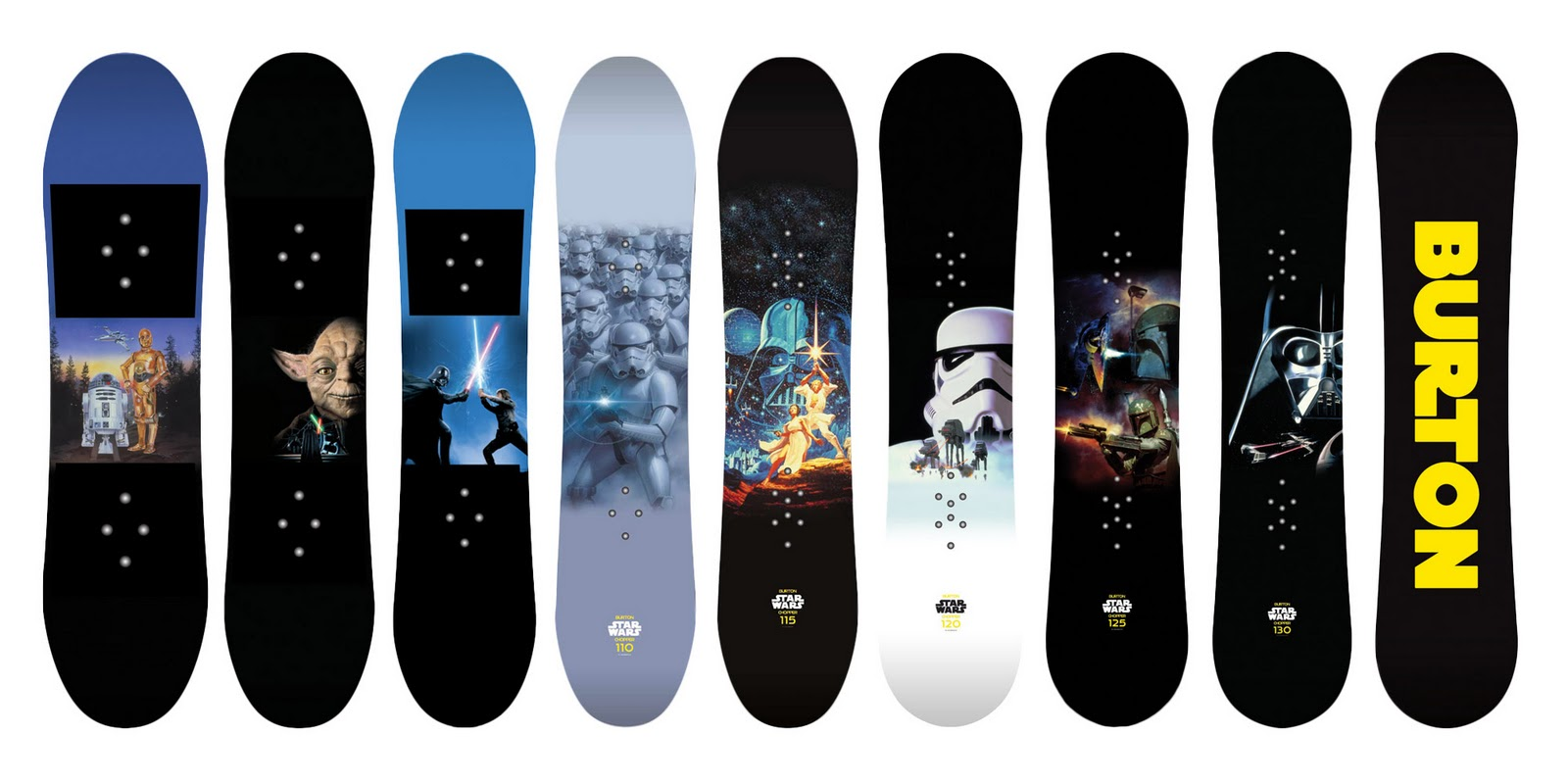 Star Wars Snowboards And Helmet Limited Editions From