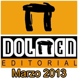Dolmen Editorial: Novedades Marzo 2013