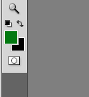 ... gradient tool untuk membentuk background undangan seperti dibawah ini
