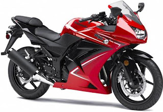 2012 Kawasaki Ninja 250R special edition (SE) - Red color