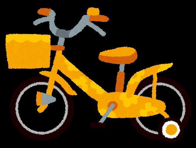 すべての講義 いろいろな単位 : 子供用自転車のイラスト | 無料 ...