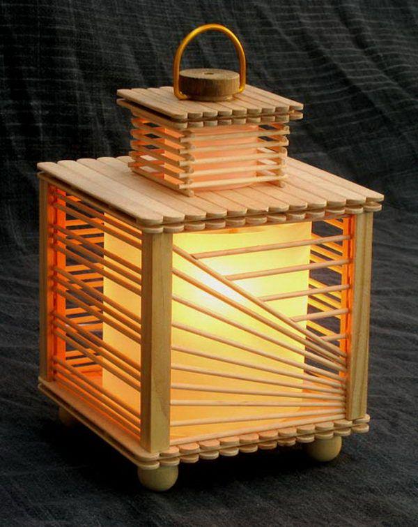 Luminária Palitos