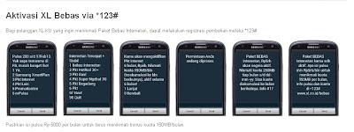Pulsa Murah XL bebas internet gratis 6bulan