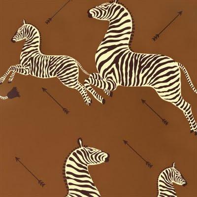 Chinoiserie Chic: Scalamandre Zebras