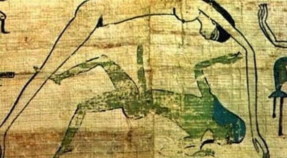 egipto antiguo sexo sexualidad pareja papiro couple sex metodo anticonceptivo infalible dioses nut heb