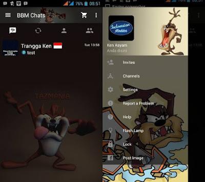 BBM Mod Tazmania V2.10.0.35 Clone