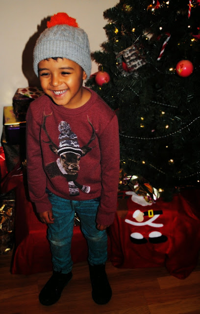 Boys cool Christmas jumper
