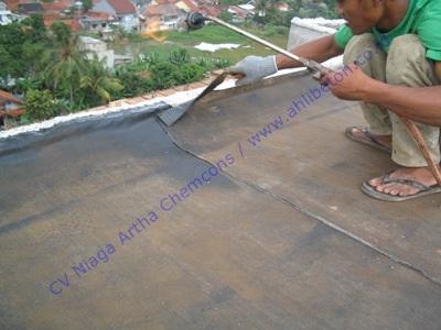 Waterproofing Membran Bakar Untuk Atap Dak