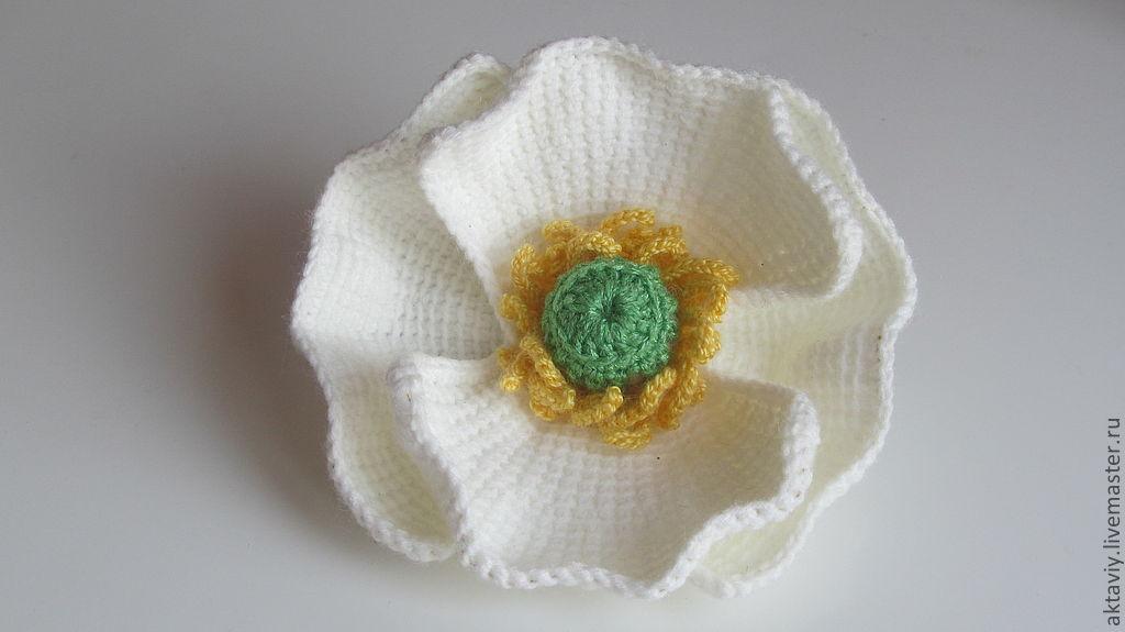 TRICO y CROCHET-madona-mía: Amapolas en Crochet -paso a paso en ...
