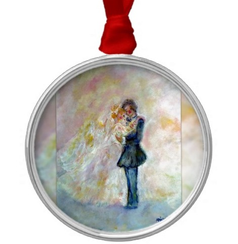 Innocent originals wedding gifts top wedding gift ideas for Engagement christmas tree ornaments