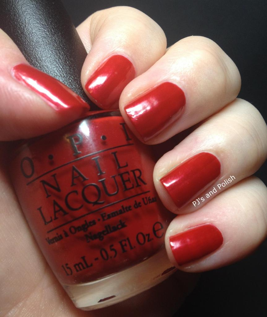 Swatch Review OPI Innie Minnie Mightie Bow HK Girl Shimmer