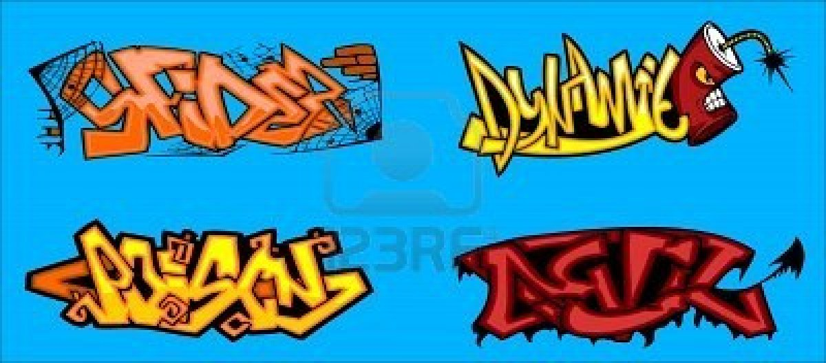 Graffiti Word Vector || Graffiti Tutorial